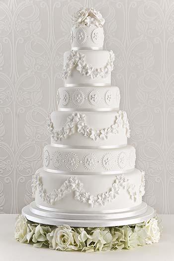 Belle Blossom Wedding Cake