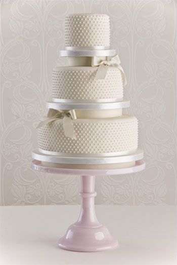 Amberly's blog: The cake is highlighted with pearl ...