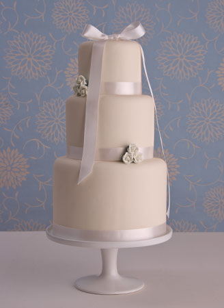 Tiered Wedding Cake on Wedding Cakes