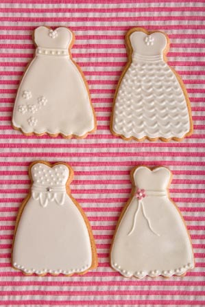 dress-wedding-cookies