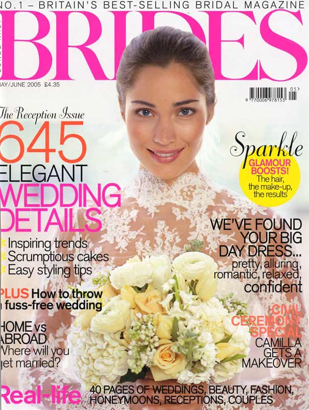 brides magazine - cover-may-jun-05