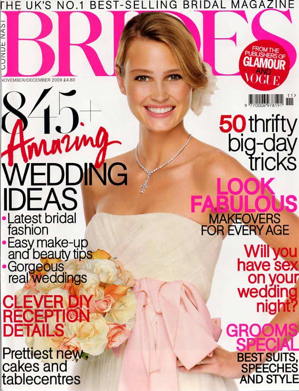 brides magazine - cover-nov-dec-09