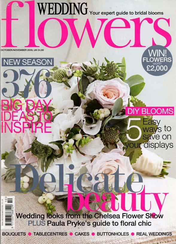 White On Pink Wedding Cake Wedding Flowers Magazine