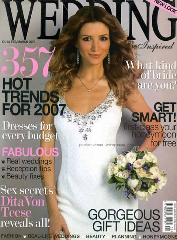 wedding magazine - cover-feb-mar-07