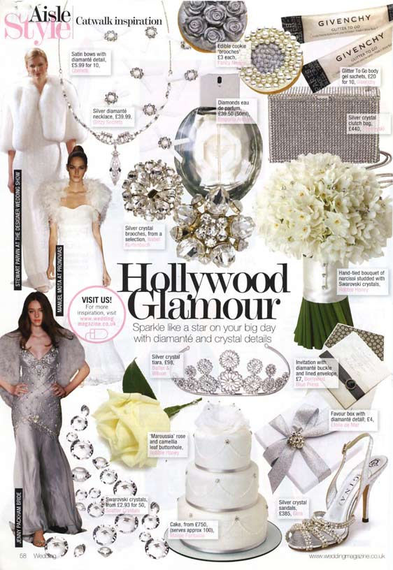 wedding magazine - Pearl-and-diamante-swag-wedding-cake-feature