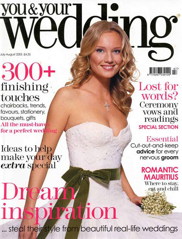 you-and-your-wedding - cover-jul-aug-05