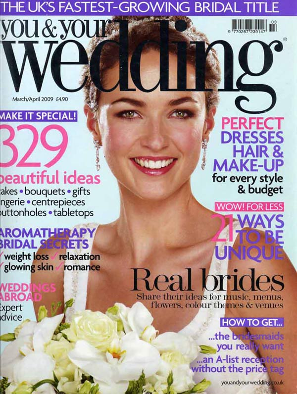 you-and-your-wedding - cover-mar-apr-09