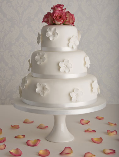 Affordable wedding cakes - Simple wedding cakes by Maisie Fantaisie